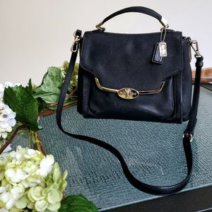 🎉HURRY!!🎉COACH Madison Saffiano Leather Flap Bag